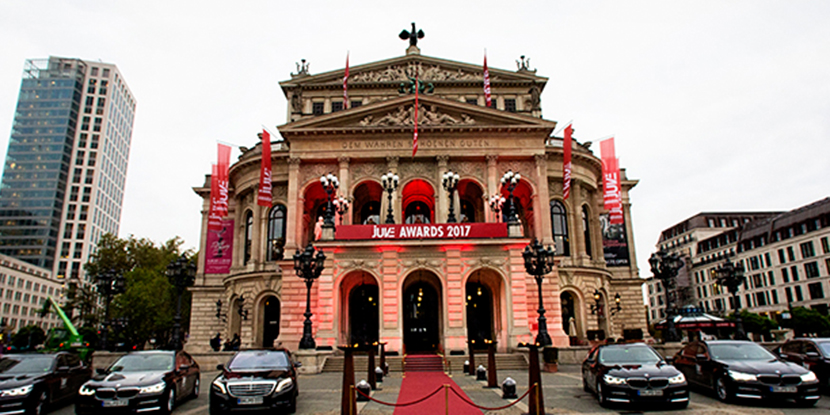 JUVE Awards, Frankfurt Opera House
