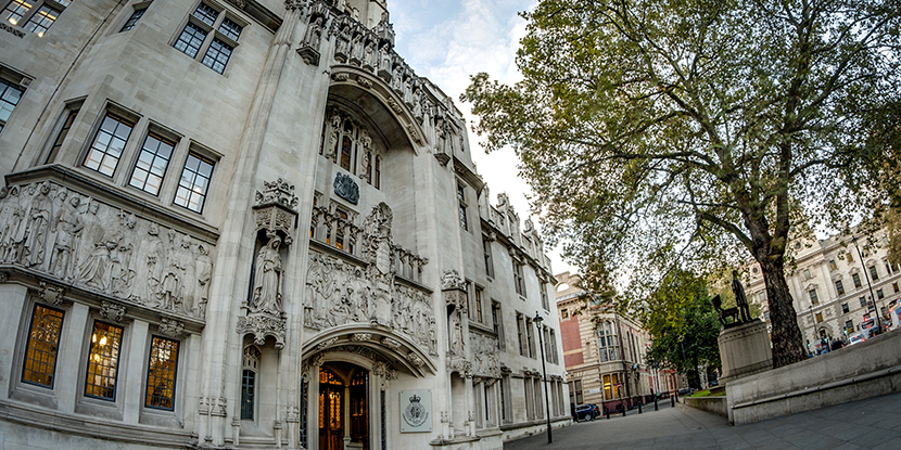 The Supreme Court of the United Kingdom. ©VictorMoussa/AdobeStock