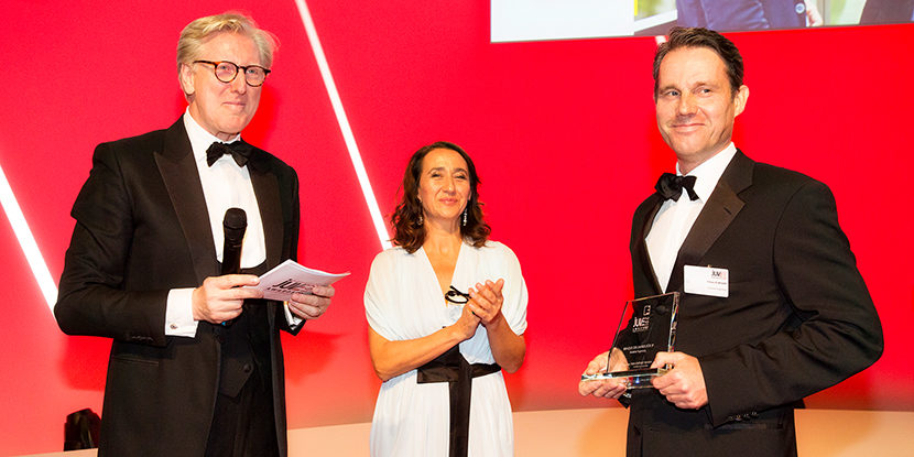 Theo Koll, Laura Di Gregorio, JUVE Awards