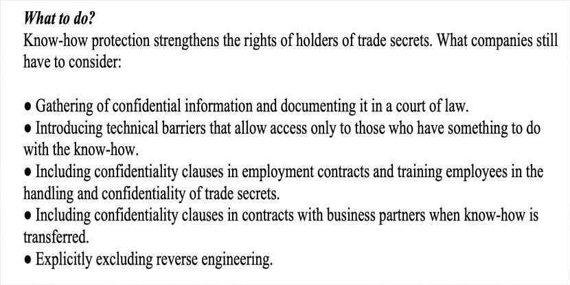 Trade Secrets European Union