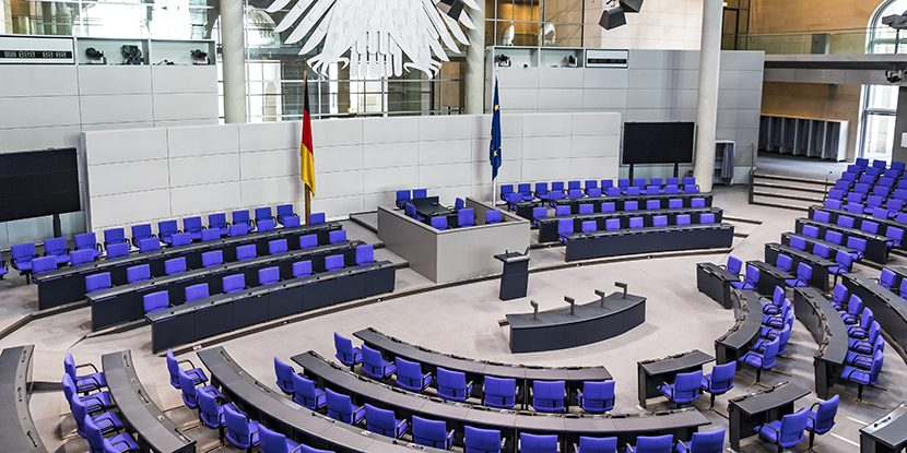 German Bundestag, patent law